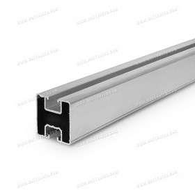Rail en aluminium 40x40 pour fixation de panneaux solaires (1m)