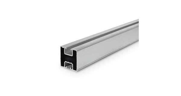 Rail en aluminium 35x40 pour fixation de panneaux solaires