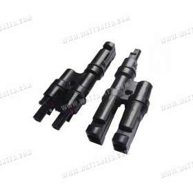 Double type MC4-like connector male & female