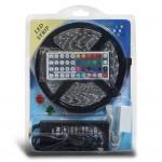 Ruban LED multicolore 5050 RGB contrôleur et transfo inclus