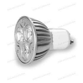 LED GU10 Spot - 3X1W - 230V