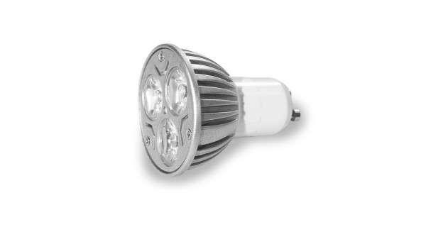 Spot LED GU10 - 3X1W - 230V