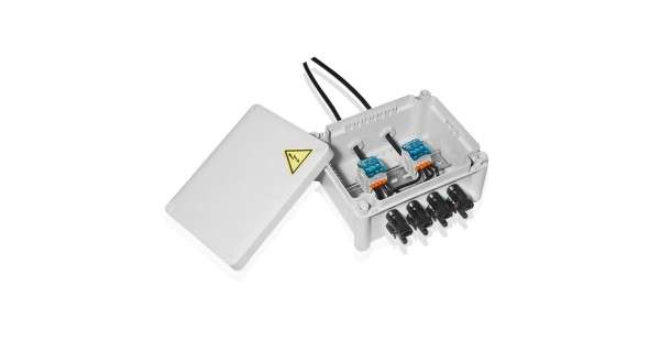 Photovoltaic junction box 4 entries