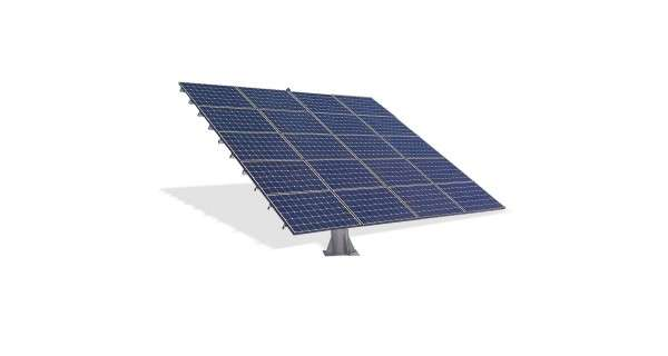 2-axis photovoltaic tracker: 36 panels