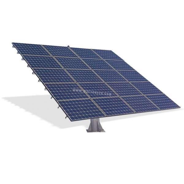 suiveur photovolta que tracker solaire 2 axes 36 panneaux. Black Bedroom Furniture Sets. Home Design Ideas