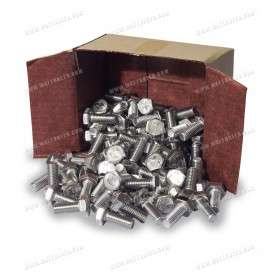 Hexagon head screw M10x25 100x