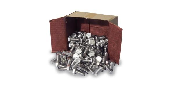 Boulon tête hexagonal M10x25 100 pièces