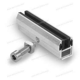 End fastening clamp