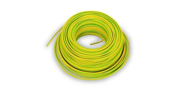 Ground cable 4mm2 - 1m