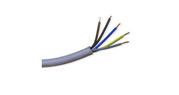 Câble électrique XVB 5G2,5 - 1m - pour les installations photovoltaïques