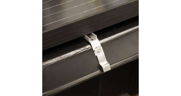 Bac à lester pour panneau solaire Renusol console+