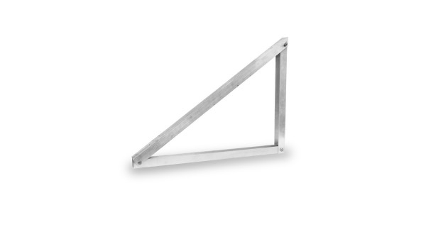 Aluminum wall-mounted structure