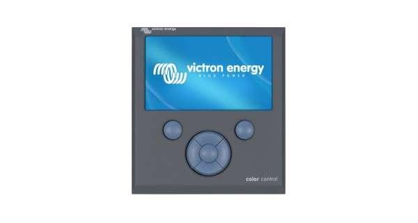 Monitor Victron color control GX