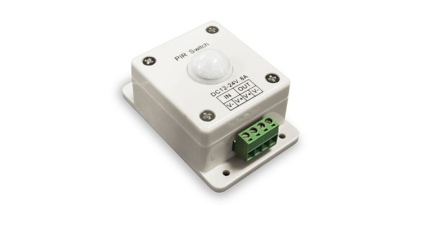 Presence detector for LED spotlight 12V-24V 8A