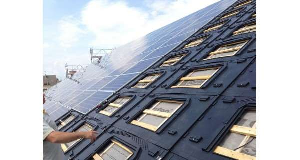 INTEGRATION SYSTEM FOR PHOTOVOLTAIC PANEL GSE IN-ROOF SYSTEM