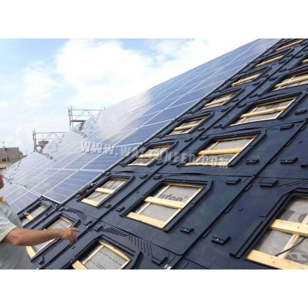 Integration System For Photovoltaic Panel Gse In Roof System