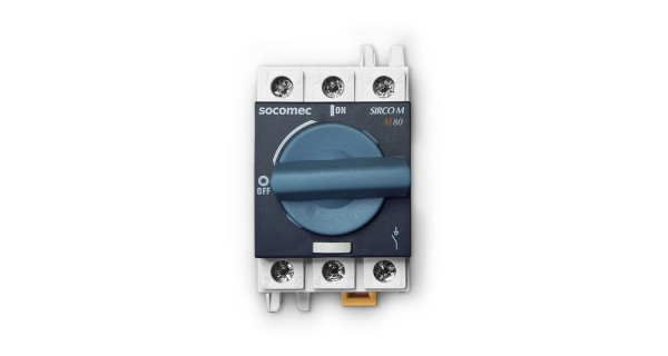 500 Vd.c 80A disconnector