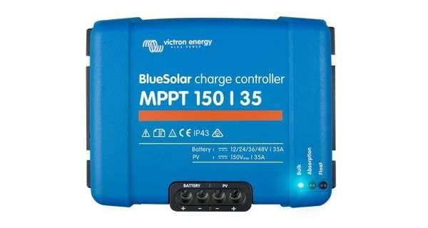 Contrôleurs de charge BlueSolar MPPT de 30 à 50A