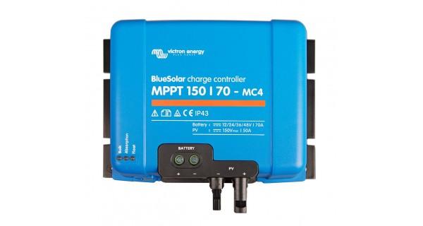 Victron BlueSolar MPPT avec connectiques Tr ou MC4 150/145 - 150/60 et 150/70
