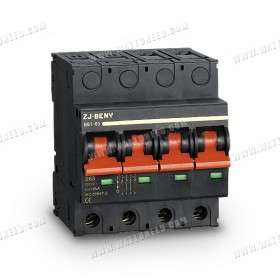 Mini DC 1200V 63A 4P Switch