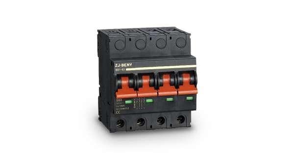 Miniature DC disconnector 4P 1200V 63A