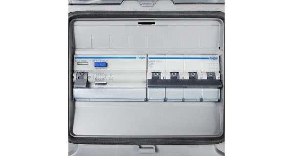 AC three-phase protection box