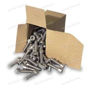 Stainless-steel hexagon head screw M8x30 100x