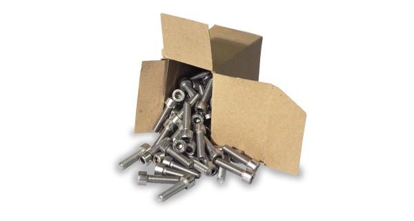 Stainless-steel hexagon head screw M8x30 1x