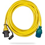 Shore power cable Victron 250V 15 or 25m 16A-25A-32A