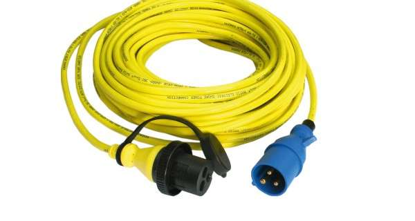 Shore power cable Victron 250V 15 or 25m - 16A-25A-32A