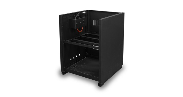 Storage cabinet for 4 batteries
