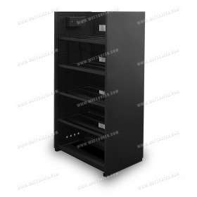 Storage cabinet for 20 batteries