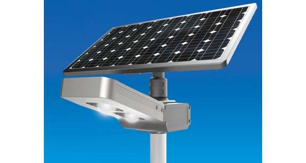 Solar Lamp Post Led 30w 18v Panel 80w