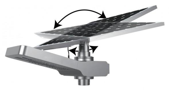 Panneau photovoltaïque 50Wc orientable