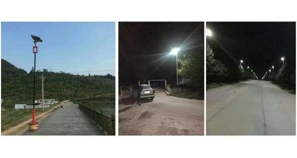 Lampadaire solaire - LED autonome 15W 18V FB