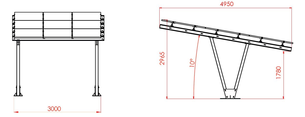 Spécifications techniques carport