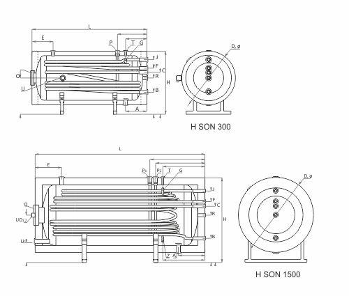 Charte chauffe-eau solaire SON horizontal