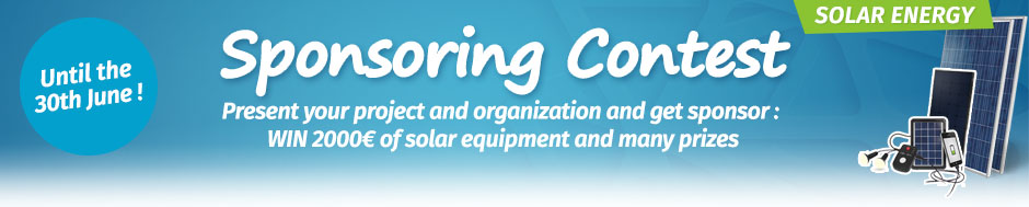 Win 2000€ in solar equipment