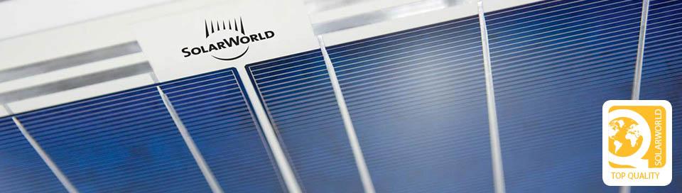 solar world panneau solaire