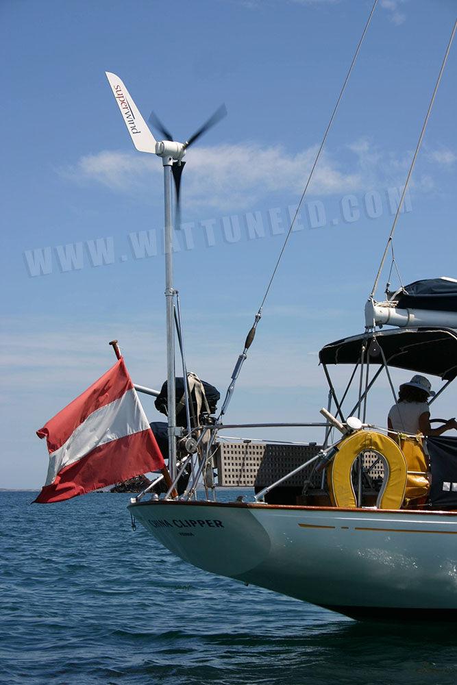 eolienne 350W superwind