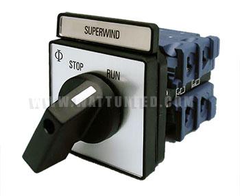 Interrupteur pour Superwind
