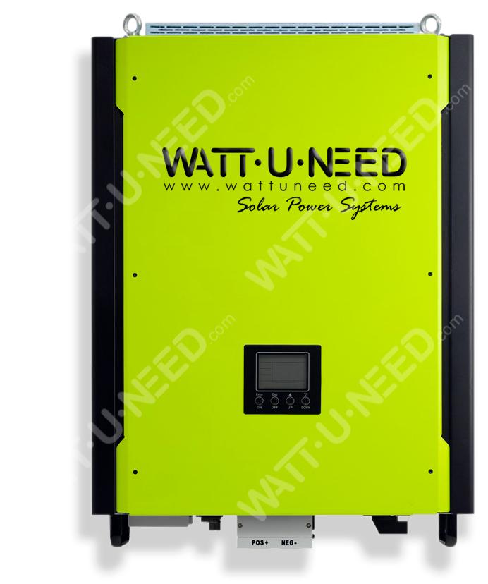 Onduleur hybride 10kW injection réseau - Stockage