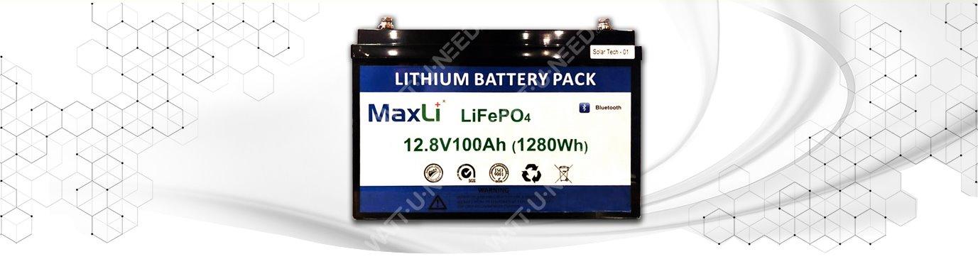 Background Battery Maxli 100Ah