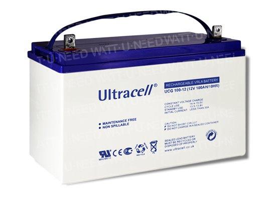 Batterie Gel ultracell 12V 100 Ah