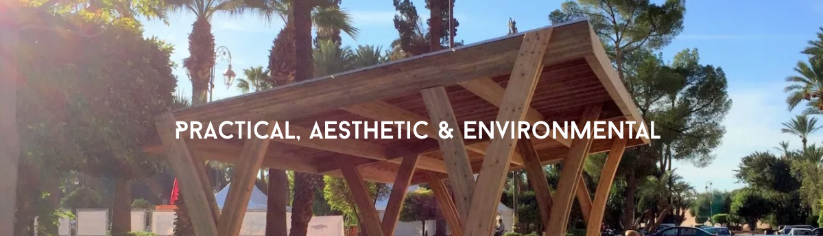 Practical, aesthetic and environmental