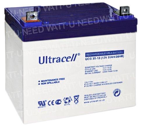Batterie GEL Ultracell 12V 35Ah