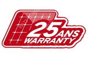 Icon: 25-year linear performance guarantee