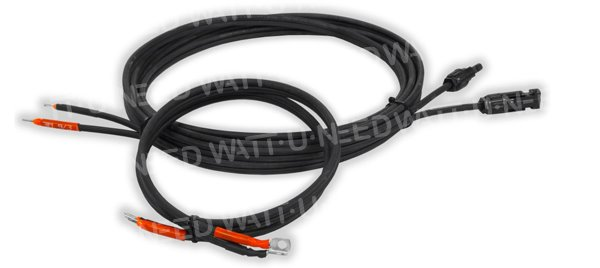 5m solar cable 4mm²+ 2m battery cable 4mm²