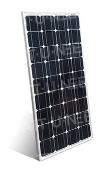 100Wc monocrystalline solar panel 12V