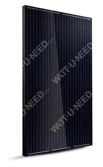 Longi Solar Panel 300 Wc Monocristallin Full black
